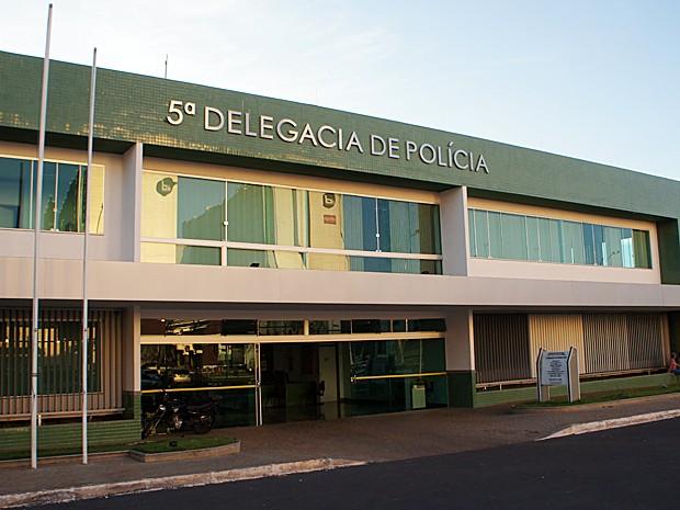 5ª DP, localizada na Asa Norte, é responsável por registrar ocorrências e investigar crimes cometidos na área central de Brasília (Foto: Ricardo Moreira / G1)
