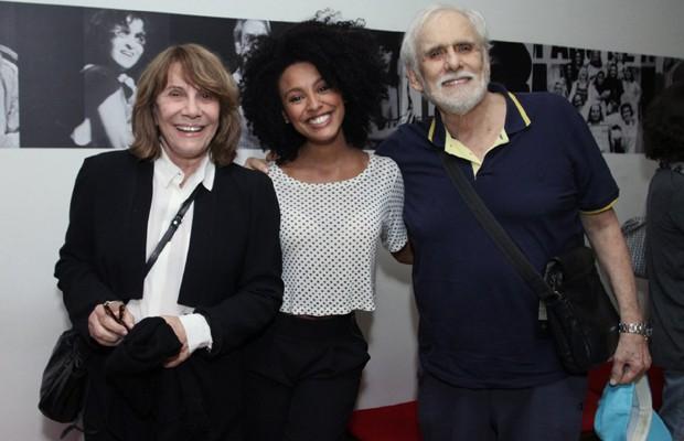 Renata Sorrah, Sheron Menezzes e Francisco Cuoco (Foto: Thyago Andrade/Brazil News)