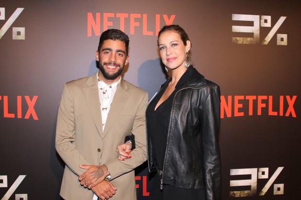 Pedro Scooby e Luana Piovani (Foto: Thiago Duran/AgNews)