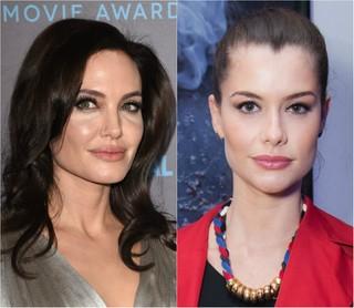 Angelina Jolie e Alinne Moraes são donas de bocas volumosas e mais desejadas entre as mulheres (Foto: Getty Image e Ag.News)