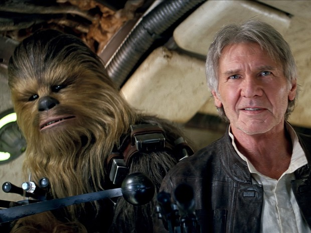 Harrison Ford em cena do sétimo episódio de 'Star Wars' (Foto: Divulgação/Disney)