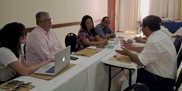 Bartira Britoparticipa de café da manhã promovido pelo SINAPRO-SE (Foto: Divulgação / TV Sergipe)