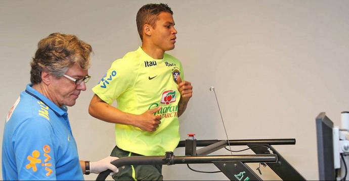 Thiago Silva - seleção brasileira (Foto: Rafael Ribeiro / CBF)