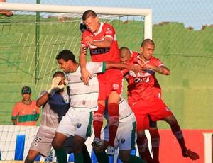 Coruripe x CRB, no Gérson Amaral (Foto: Ailton Cruz/Gazeta de Alagoas)