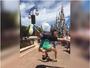 Arthur Nory e Jade Barbosa dançam e fazem piruetas na Disney; assista!