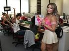 Geisy Arruda negocia novo ensaio nu com a revista 'Sexy': 'Nas preliminares'