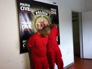 Polícia esclarece duplo homicídio motivado por briga em Uberlândia (Foto: Caroline Aleixo/G1)