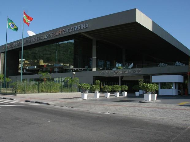 Assembleia Legislativa de SC (Foto: ALESC/Divulgação)