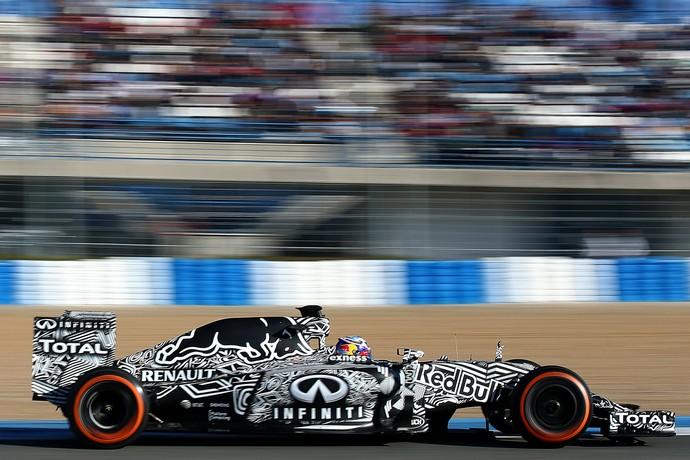 6498f58b13 Enquanto as demais equipes apresentavam seus carros nos dias anteriores aos  testes da Fórmula 1 em Jerez de la Frontera