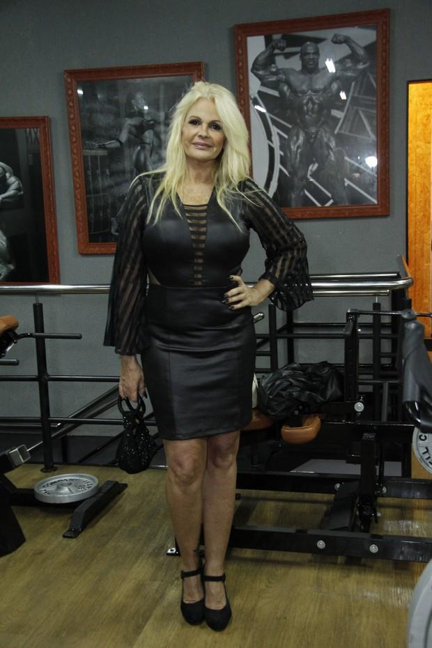 Monique Evans (Foto: Marcos Ferreira/ Brazil News)