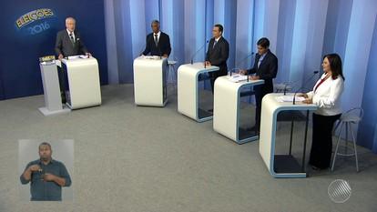 Veja o primeiro bloco do debate entre candidatos à prefeitura de Salvador, na TV Bahia