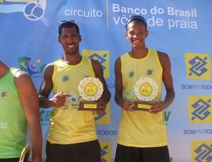 Gilmario e Carlos Luciano foram campeões da etapa de São Luís (Foto: Divulgação)