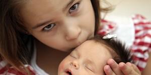 Menina selecionada geneticamente cura irmã (Evelson de Freitas/AE)