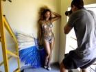 No Paparazzo, rainhas de bateria falam da preparação para o carnaval