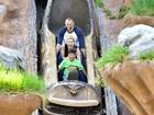 Heidi Klum se diverte com filhos em parque nos Estados Unidos