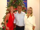 Famosos comemoram o Natal com suas famílias e amigos; veja fotos das festas pelo mundo