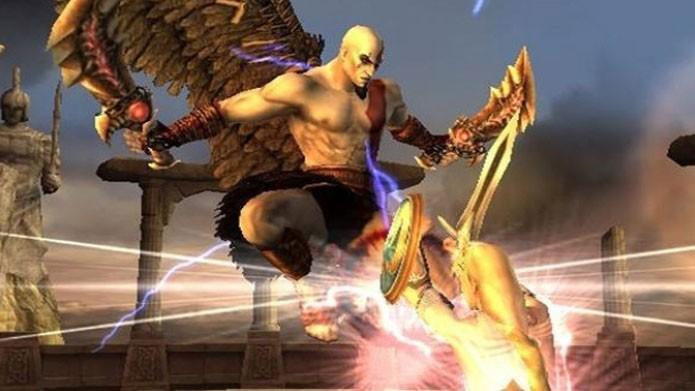 Kratos, de God of War, marca presença em Soul Calibur: Broken Destiny (Foto: Divulgação)