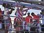 Ivete Sangalo comanda trio após desfilar na Sapucaí: 'Acordei gigante'