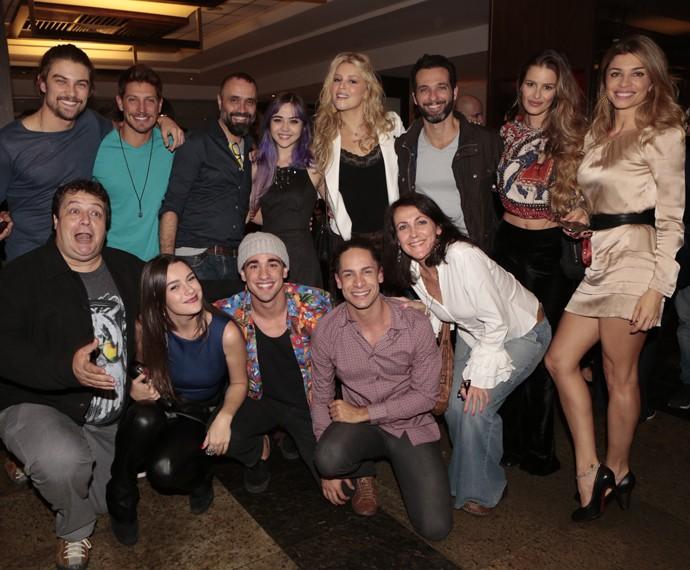 Muito amor por esse elenco (Foto: Gshow)
