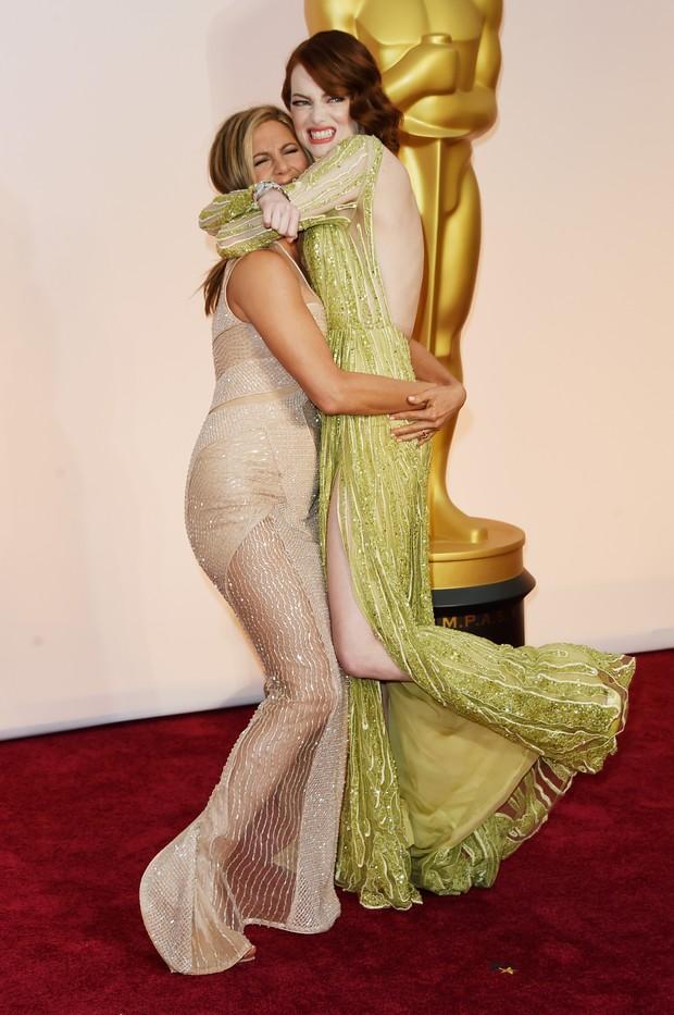 Jennifer Aniston e Emma Stone (Foto: Getty Images)
