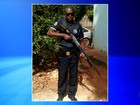 Guarda que matou esposa foi visto abraçado com a vítima, diz porteiro