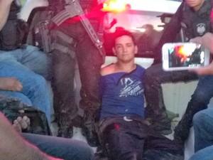 Elivan Verus da Silva, de 32 anos, foi preso nesta segunda-feira (15), na zona rural de Xapuri (Foto: Divulgação/Polícia Civil)