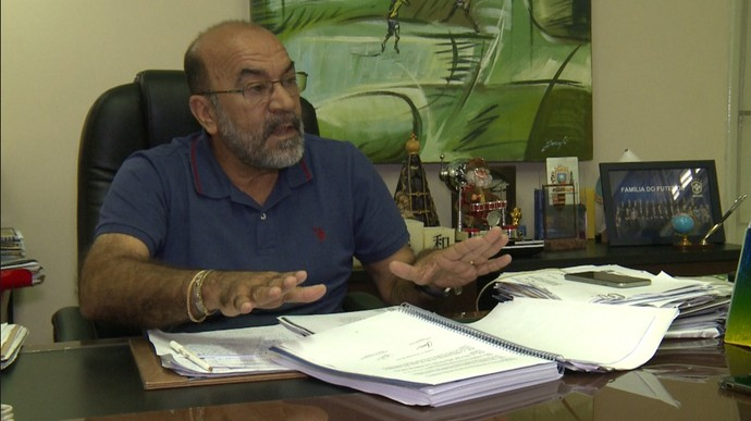 Cesarino Oliveira (Foto: Pablo Silva/TV Clube)