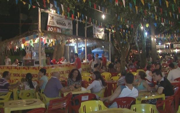 Festa popular acontece há 14 anos na capital. (Foto: Acre TV)