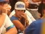 Dani Bolina comenta brigas na apuração: 'Tentando apartar'