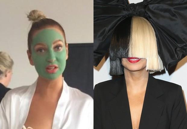 Sia (Foto: Reprodução/Instagram e Getty Images)
