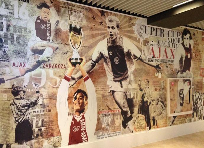 Museu títulos Ajax (Foto: Victor Canedo)