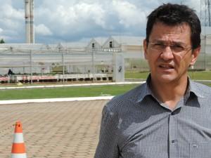 Vice-presidente da empresa, Eduardo de Mello, criticou ataque (Foto: Caio Gomes Silveira/ G1)