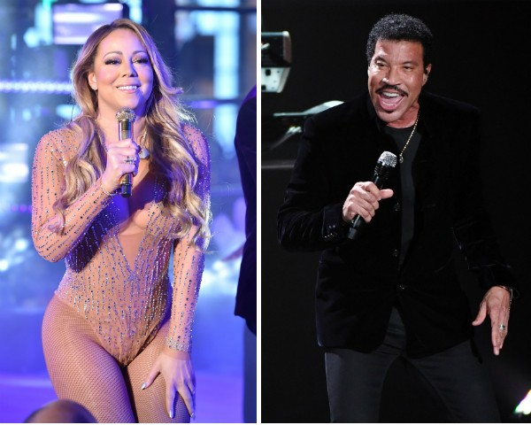 Mariah Carey e Lionel Richie (Foto: Getty Images)
