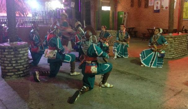 Inter TV realiza programa para comemorar o Dia do Folclore (Foto: Alessandra Lima)