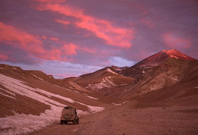 Belas paisagens foram motivação para os alpinistas no desafio, que durou dois meses (Foto: Caio Vilela)