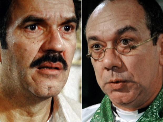 Padre se recusa a casar Nacib e Gabriela (Foto: Gabriela / TV Globo)