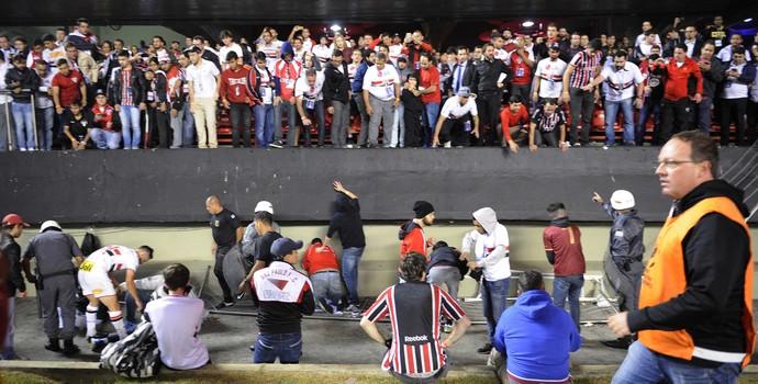 São Paulo Acidente Morumbi  (Foto: Marcos Ribolli)