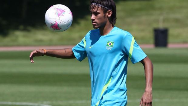 neymar seleção brasileira londres 2012 olimpiadas (Foto: Mowa Press)