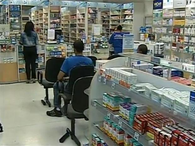 Instabilidade no sistema do programa Farmácia Popular está deixando pacientes sem medicamentos (Foto: Reprodução/TV Tem)