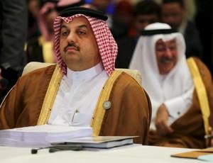 Chacenler do Catar comenta investigações (Foto: Reuters)