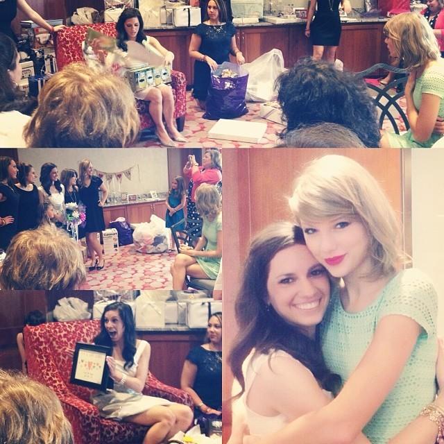Gena Gabrielle e Taylor Swift (Foto: Reprodução/Instagram)