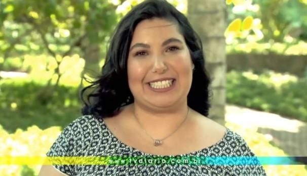 Mariana Xavier tem um recado para você  (Foto: Reprodução / TV Diário)