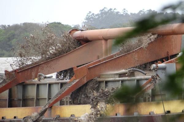 Mais de 100 praias desapareceram no RS (Foto: Divulgação/RBS TV)