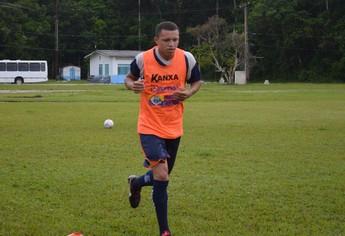 Perema, zagueiro do São Francisco (Foto: Weldon Luciano/GloboEsporte.com)