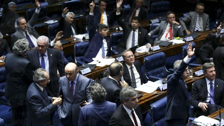 senado-reforma-trabalhista (Foto: Marcelo Camargo/Agência Brasil)