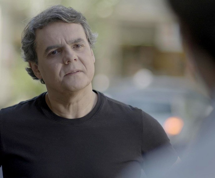 Evandro provoca Murilo (Foto: TV Globo)