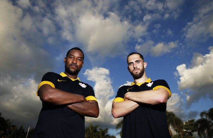 Edmilson e Rafael Costa reforços RB Brasil (Foto: Red Bull Brasil / Media Manager)