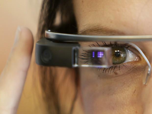 Google Glass apresentado em Praga, na República Checa (Foto: David W Cerny/Reuters)