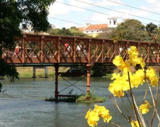 A Ponte Velha de Resende é tema de uma exposição de fotos e textos (Foto: Divulgação/ Prefeitura Resende)