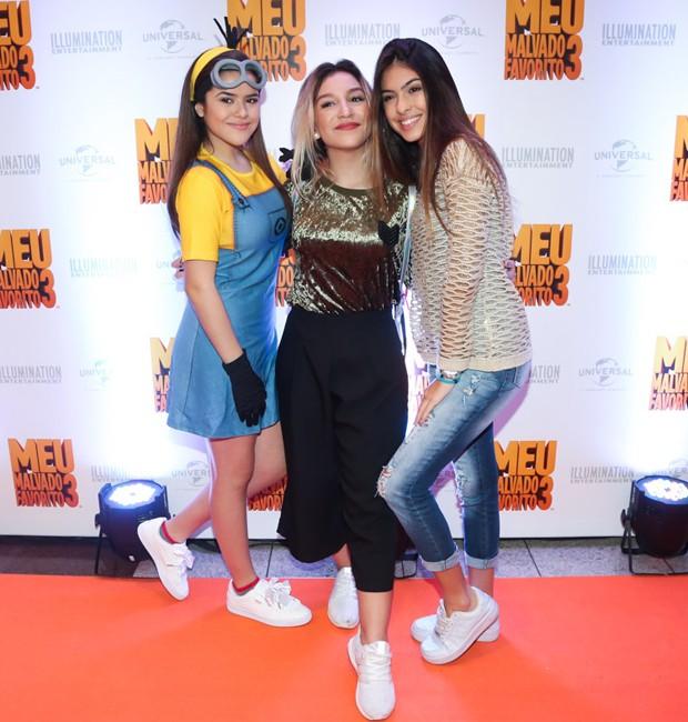 Maisa Silva, Priscila Alcântara e Fernanda Concon (Foto: Manuela Scarpa/Brazil News)